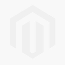 Glass Charger Plate Red and Gold