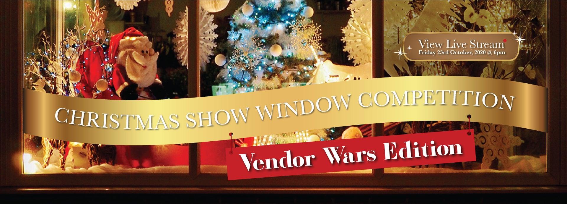Christmas Show Windows Vendor Wars