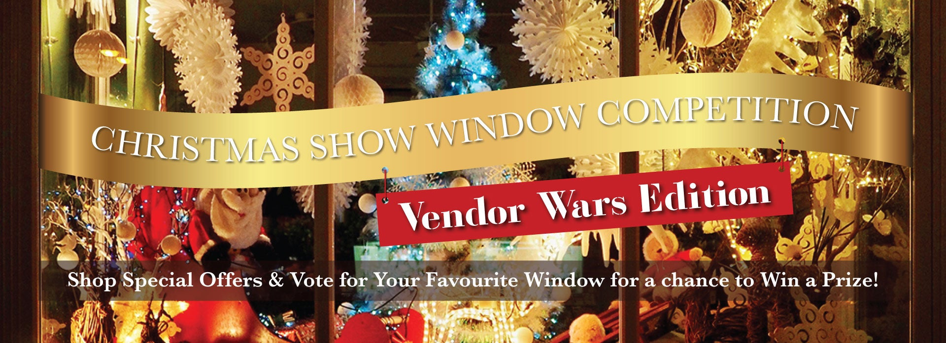 Christmas Show Windows Vendor Wars
