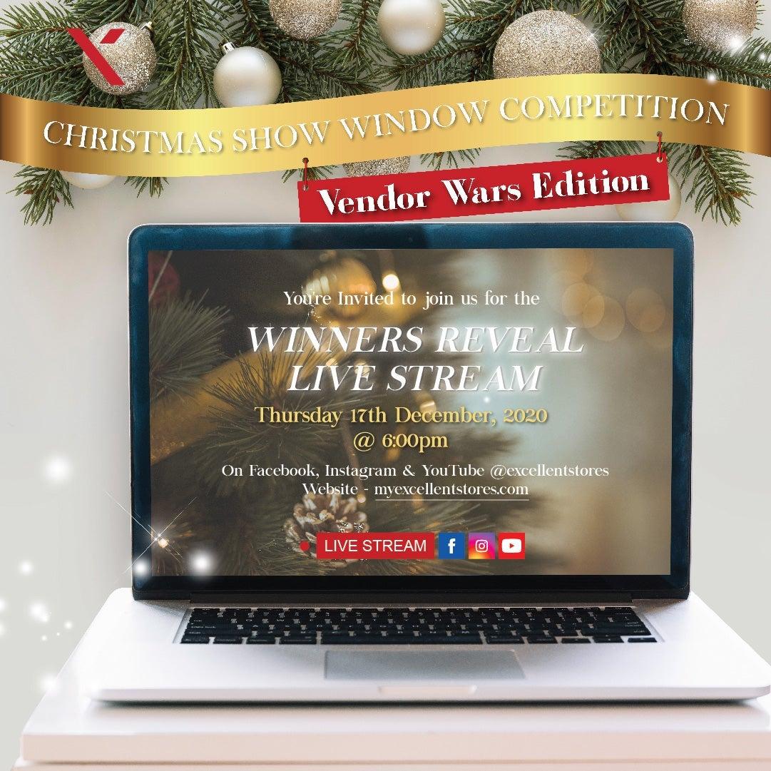 Christmas Show Windows Winner Reveal