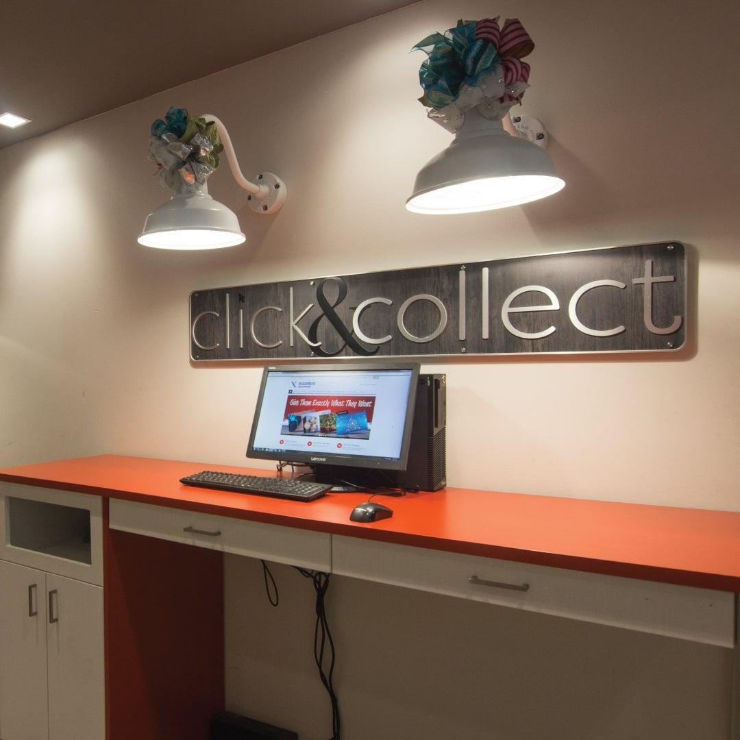 Click & Collect Desk