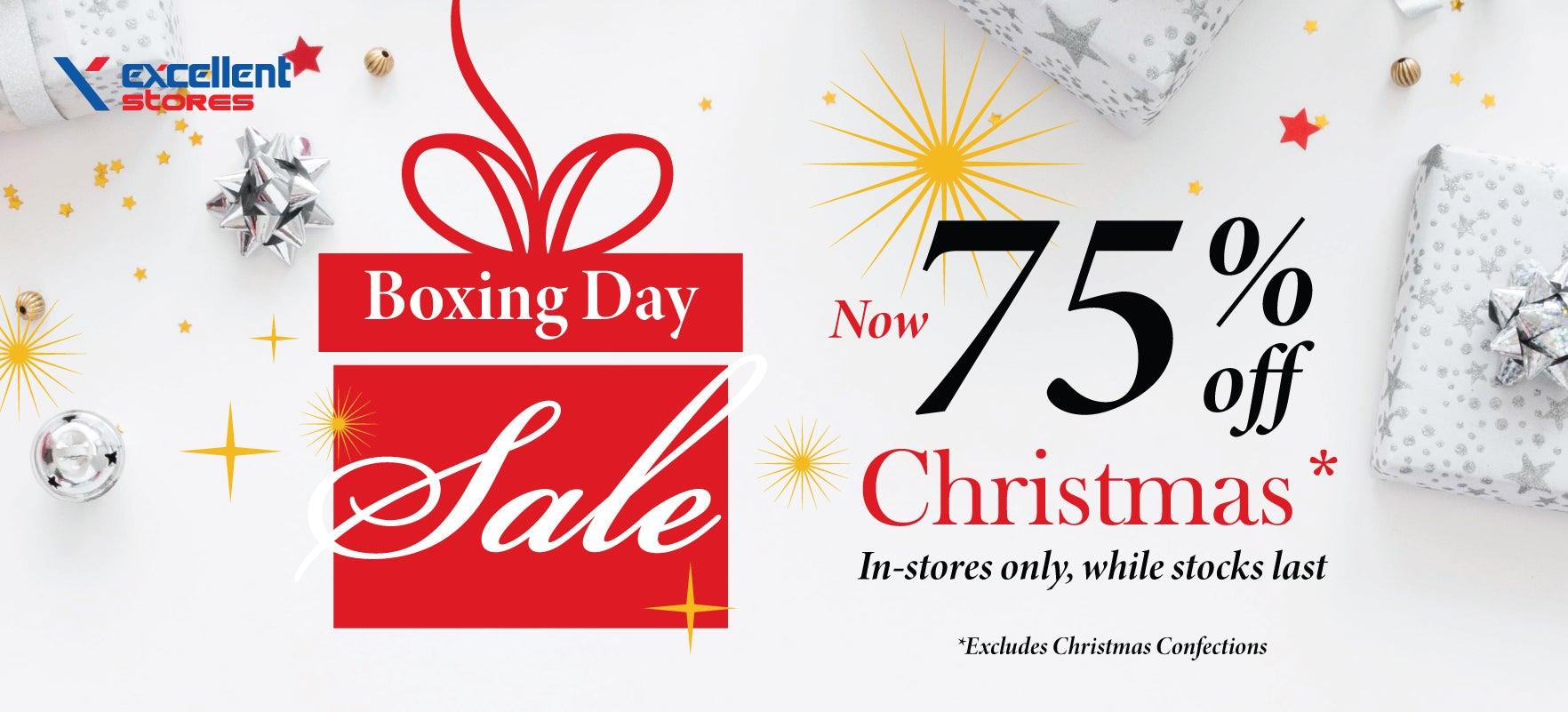 75% off ALL Christmas*