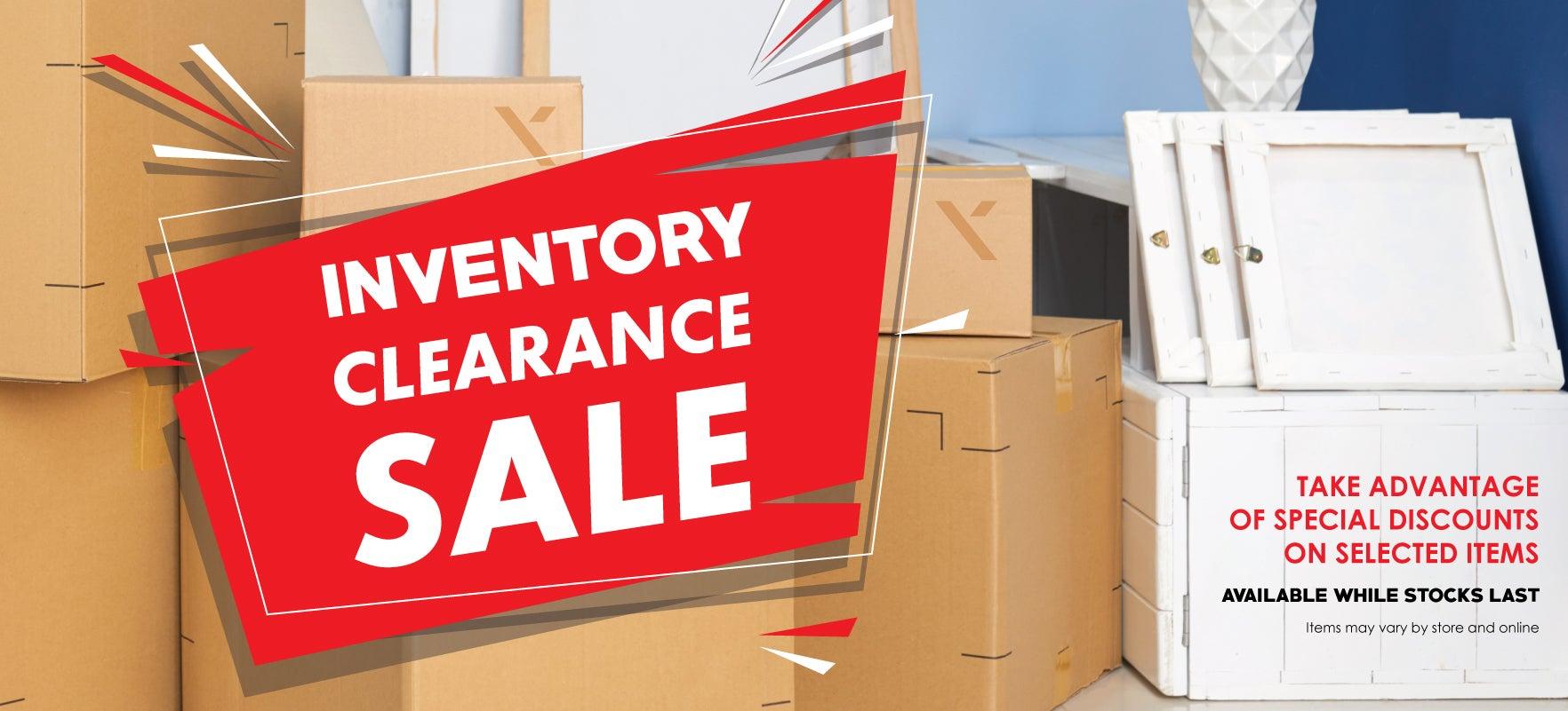 Inventory Sale